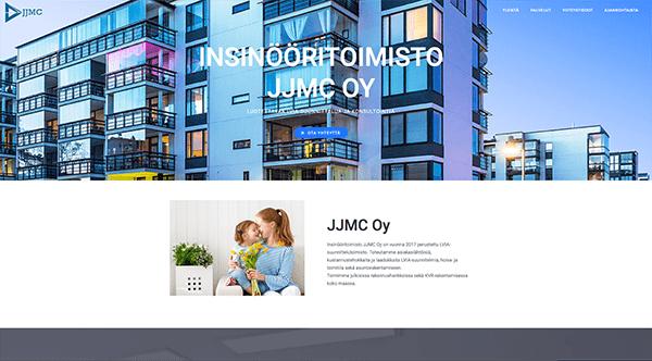 JJMC-wordpress-sivut