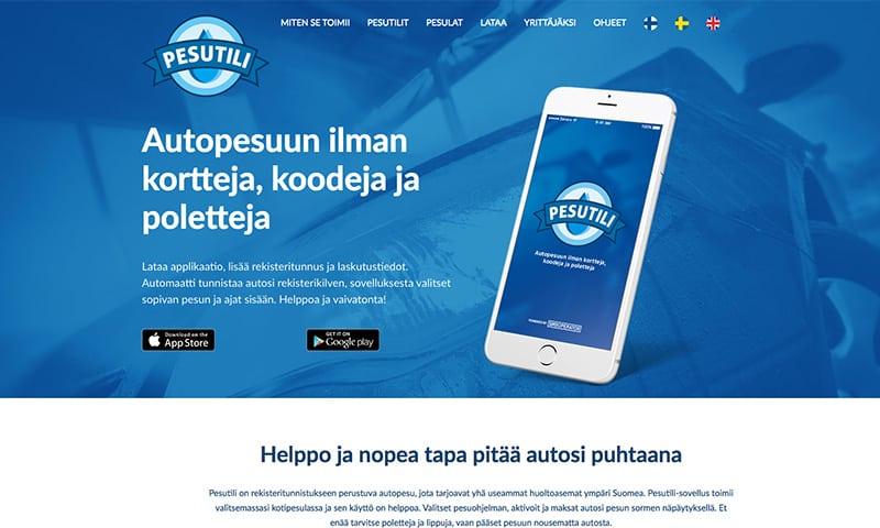 pesutilin-verkkosivut