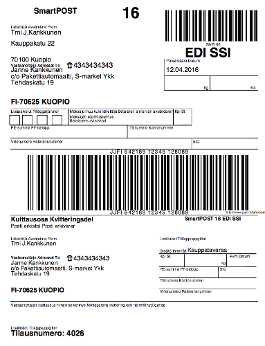 Smartpost_osoitekortti