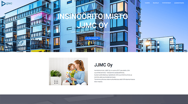 JJMC-wordpress-sivut